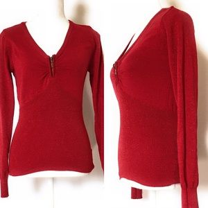 Energie sweater, Sz Large, shimmer